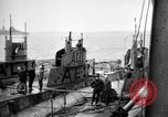 Image of captured U boat Atlantic Ocean, 1918, second 6 stock footage video 65675042419