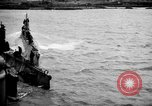 Image of captured U boat Atlantic Ocean, 1918, second 8 stock footage video 65675042419