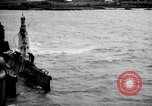 Image of captured U boat Atlantic Ocean, 1918, second 15 stock footage video 65675042419