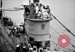 Image of captured U boat Atlantic Ocean, 1918, second 16 stock footage video 65675042419