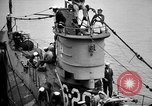 Image of captured U boat Atlantic Ocean, 1918, second 17 stock footage video 65675042419