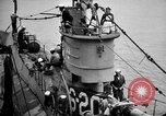 Image of captured U boat Atlantic Ocean, 1918, second 18 stock footage video 65675042419