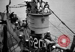 Image of captured U boat Atlantic Ocean, 1918, second 20 stock footage video 65675042419