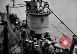 Image of captured U boat Atlantic Ocean, 1918, second 21 stock footage video 65675042419