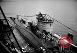 Image of captured U boat Atlantic Ocean, 1918, second 24 stock footage video 65675042419