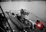 Image of captured U boat Atlantic Ocean, 1918, second 28 stock footage video 65675042419