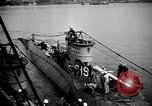 Image of captured U boat Atlantic Ocean, 1918, second 29 stock footage video 65675042419