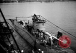 Image of captured U boat Atlantic Ocean, 1918, second 30 stock footage video 65675042419