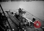Image of captured U boat Atlantic Ocean, 1918, second 31 stock footage video 65675042419