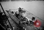 Image of captured U boat Atlantic Ocean, 1918, second 32 stock footage video 65675042419