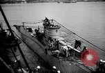 Image of captured U boat Atlantic Ocean, 1918, second 33 stock footage video 65675042419