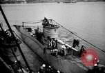 Image of captured U boat Atlantic Ocean, 1918, second 34 stock footage video 65675042419