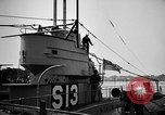 Image of captured U boat Atlantic Ocean, 1918, second 51 stock footage video 65675042419