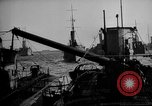 Image of U boat Atlantic Ocean, 1918, second 32 stock footage video 65675042420