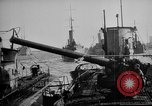 Image of U boat Atlantic Ocean, 1918, second 34 stock footage video 65675042420
