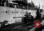 Image of U boat Atlantic Ocean, 1918, second 51 stock footage video 65675042420
