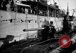 Image of U boat Atlantic Ocean, 1918, second 52 stock footage video 65675042420