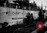 Image of U boat Atlantic Ocean, 1918, second 57 stock footage video 65675042420