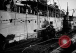 Image of U boat Atlantic Ocean, 1918, second 61 stock footage video 65675042420