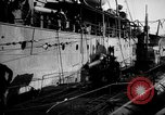 Image of U boat Atlantic Ocean, 1918, second 62 stock footage video 65675042420