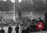 Image of Memorial ceremony for fallen soldiers  Berlin Germany, 1924, second 28 stock footage video 65675042441