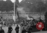 Image of Memorial ceremony for fallen soldiers  Berlin Germany, 1924, second 30 stock footage video 65675042441