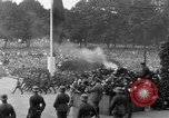 Image of Memorial ceremony for fallen soldiers  Berlin Germany, 1924, second 34 stock footage video 65675042441