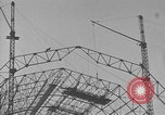 Image of steel frame structure Germany, 1924, second 8 stock footage video 65675042447