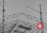 Image of steel frame structure Germany, 1924, second 9 stock footage video 65675042447
