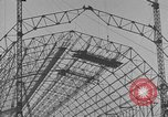 Image of steel frame structure Germany, 1924, second 14 stock footage video 65675042447