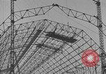 Image of steel frame structure Germany, 1924, second 15 stock footage video 65675042447