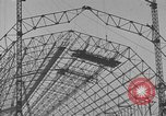 Image of steel frame structure Germany, 1924, second 17 stock footage video 65675042447