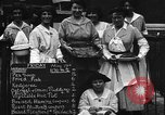 Image of British women run a food kitchen in World War I United States USA, 1918, second 5 stock footage video 65675042450