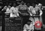 Image of British women run a food kitchen in World War I United States USA, 1918, second 6 stock footage video 65675042450