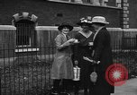 Image of British women run a food kitchen in World War I United States USA, 1918, second 25 stock footage video 65675042450