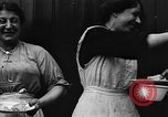 Image of British women run a food kitchen in World War I United States USA, 1918, second 27 stock footage video 65675042450