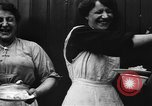 Image of British women run a food kitchen in World War I United States USA, 1918, second 28 stock footage video 65675042450