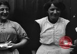 Image of British women run a food kitchen in World War I United States USA, 1918, second 32 stock footage video 65675042450