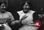 Image of British women run a food kitchen in World War I United States USA, 1918, second 33 stock footage video 65675042450