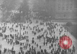 Image of German citlzens gathering on Unter den Linden Berlin Germany, 1920, second 7 stock footage video 65675042454