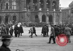Image of German citlzens gathering on Unter den Linden Berlin Germany, 1920, second 29 stock footage video 65675042454