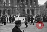 Image of German citlzens gathering on Unter den Linden Berlin Germany, 1920, second 30 stock footage video 65675042454