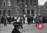 Image of German citlzens gathering on Unter den Linden Berlin Germany, 1920, second 31 stock footage video 65675042454