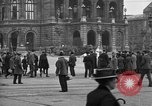 Image of German citlzens gathering on Unter den Linden Berlin Germany, 1920, second 32 stock footage video 65675042454
