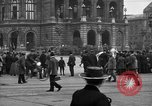 Image of German citlzens gathering on Unter den Linden Berlin Germany, 1920, second 33 stock footage video 65675042454