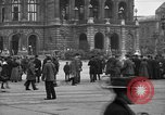 Image of German citlzens gathering on Unter den Linden Berlin Germany, 1920, second 34 stock footage video 65675042454