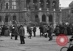 Image of German citlzens gathering on Unter den Linden Berlin Germany, 1920, second 35 stock footage video 65675042454