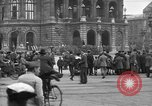 Image of German citlzens gathering on Unter den Linden Berlin Germany, 1920, second 37 stock footage video 65675042454