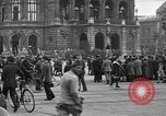Image of German citlzens gathering on Unter den Linden Berlin Germany, 1920, second 38 stock footage video 65675042454