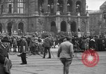 Image of German citlzens gathering on Unter den Linden Berlin Germany, 1920, second 39 stock footage video 65675042454
